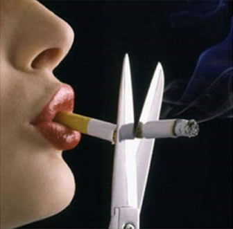 Smoking puts you at risk for gum disease